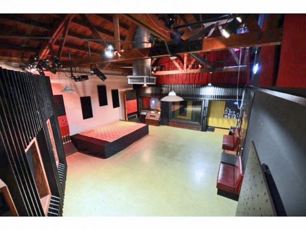live room recording studio rehearsal space and live events venue