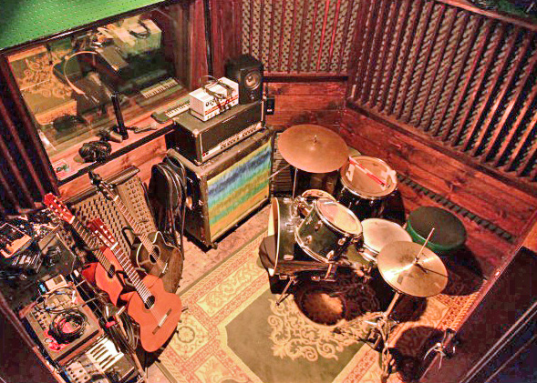 small recording studio la